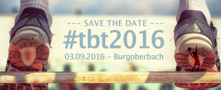 SAVE THE DATE – TBT 2016